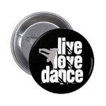 Vivo, amor, danza pins