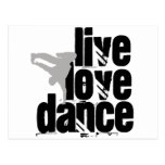 Vivo, amor, danza postal