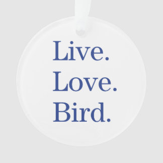 Vivo. Amor. Pájaro
