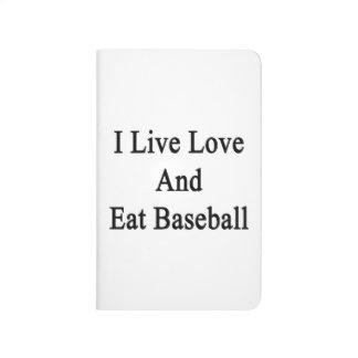 Vivo amor y como béisbol