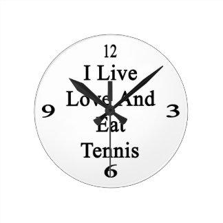Vivo amor y como tenis
