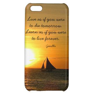 Vivo aprenda el caso del iPhone 5C del barco de la