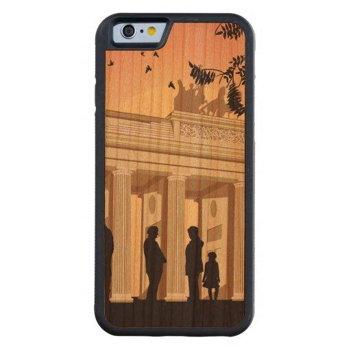 Vivo en Berlín Funda De iPhone 6 Bumper Cerezo