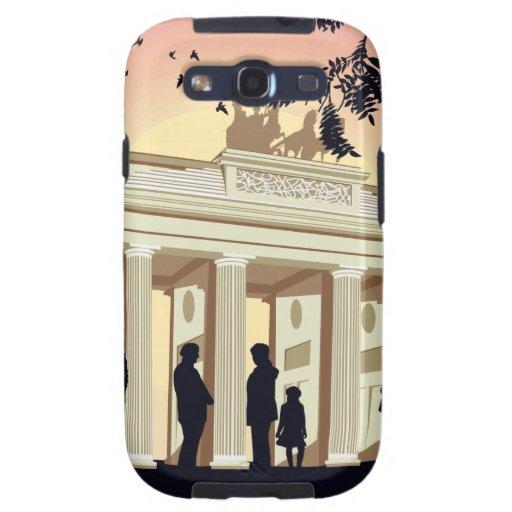 Vivo en el caso de Berlín Samsung S3 Samsung Galaxy S3 Carcasas