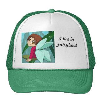 Vivo en fairyland gorros bordados