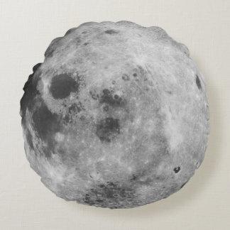 Vivo en la luna cojín redondo