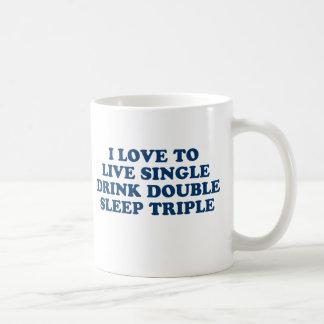 Vivo escoja el triple del sueño del doble de la be taza de café