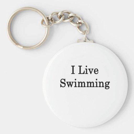 Vivo natación llavero