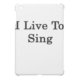 Vivo para cantar