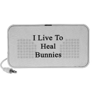Vivo para curar conejitos PC altavoces