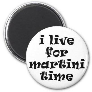Vivo para el imán del tiempo de Martini