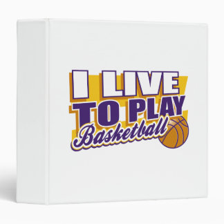 Vivo para jugar a baloncesto