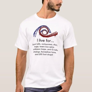 """""""Vivo para"""" la camiseta"""