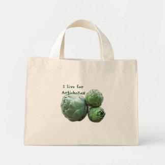 ¡Vivo para las alcachofas! La bolsa de asas
