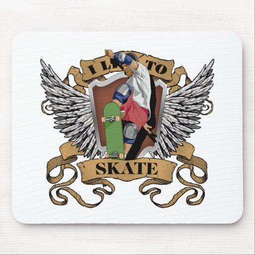 Vivo para patinar tapete de ratones