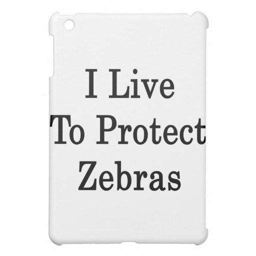 Vivo para proteger cebras