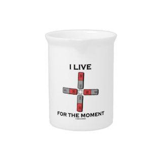 Vivo por el momento el momento de tetrapolo magné jarras de beber