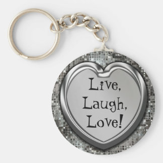 ¡Vivo risa amor Llavero