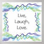 Vivo, risa, amor poster