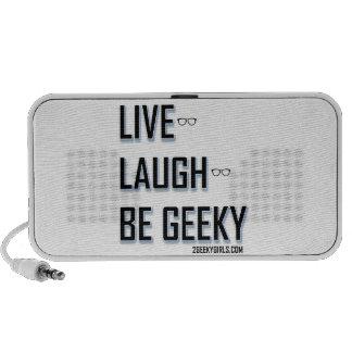 Vivo, risa, sea (2) Geeky Notebook Altavoces