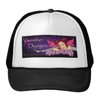 Vixember Logo Trucker Hat
