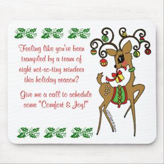 Vixen Client / Patient Christmas Gift Mouse Pad