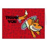 Vixen de Cadmean - el Fox porta Felicitación