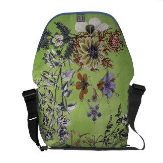 Vixen Green Bag Courier Bags