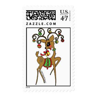 Vixen Postage Stamp