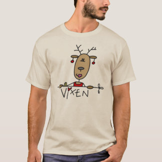 Vixen Reindeer Christmas Tshirts and Gifts