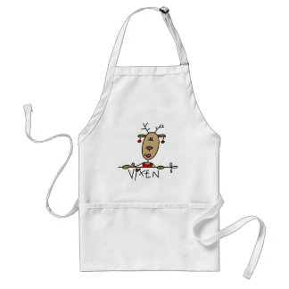 Vixen Reindeer Tshirts and Gifts Adult Apron