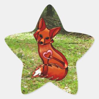 Vixen Star Sticker