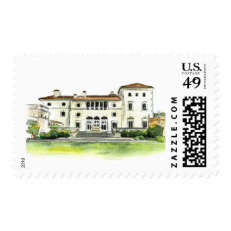 Vizcaya Illustration Stamp