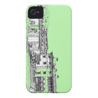 Vizcaya lime green Case-Mate iPhone 4 case