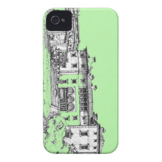 Vizcaya lime green iPhone 4 case