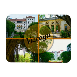 Vizcaya Museum and Botanical Garden Miami Florida Magnet