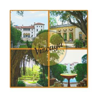 Vizcaya Museum and Botanical Garden Miami Florida Metal Print