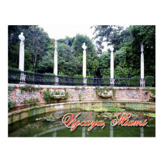 Vizcaya Museum and Gardens, Miami, Florida Postcard