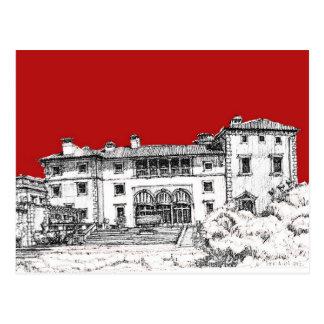 Vizcaya Museum art Postcard