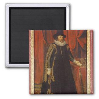 Vizconde de sir Francis Bacon de St Albans Imán Cuadrado