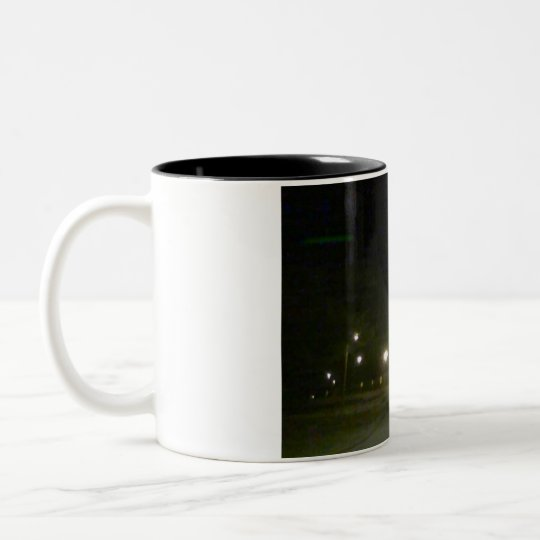 VizDaVox Evening Zone Two-Tone Coffee Mug
