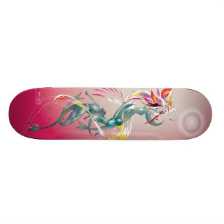 Vizjhanti: Sirens with Songline Skateboard Deck