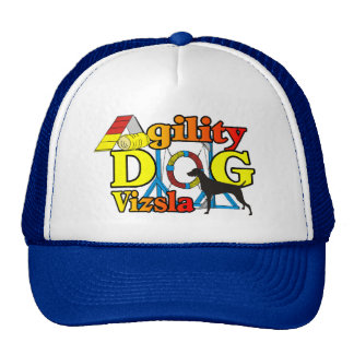 Vizsla Agility Shirts Gifts Mesh Hats