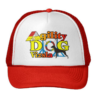 Vizsla Agility Shirts Gifts Trucker Hat