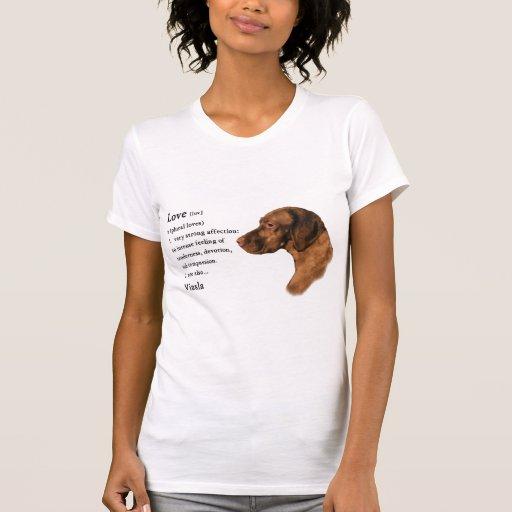 Vizsla Art Gifts T-Shirt