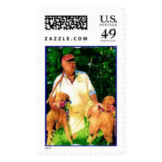 Vizsla Buddies Stamps
