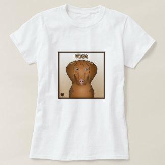 Vizsla Cartoon Tee Shirt