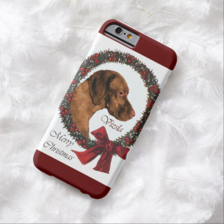 Vizsla Christmas Barely There iPhone 6 Case