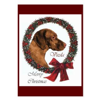 Vizsla Christmas Gifts Large Business Card