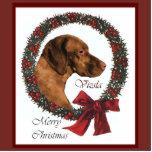 Vizsla Christmas Gifts Photo Cutout